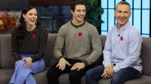 Tessa Virtue rocks five outfits in just eight hours