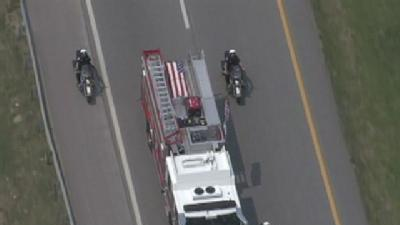 Fallen Riverside Officer Laid To Rest