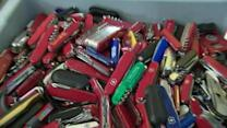 Air passengers react as TSA plans to let small knives, bats, hockey sticks on planes
