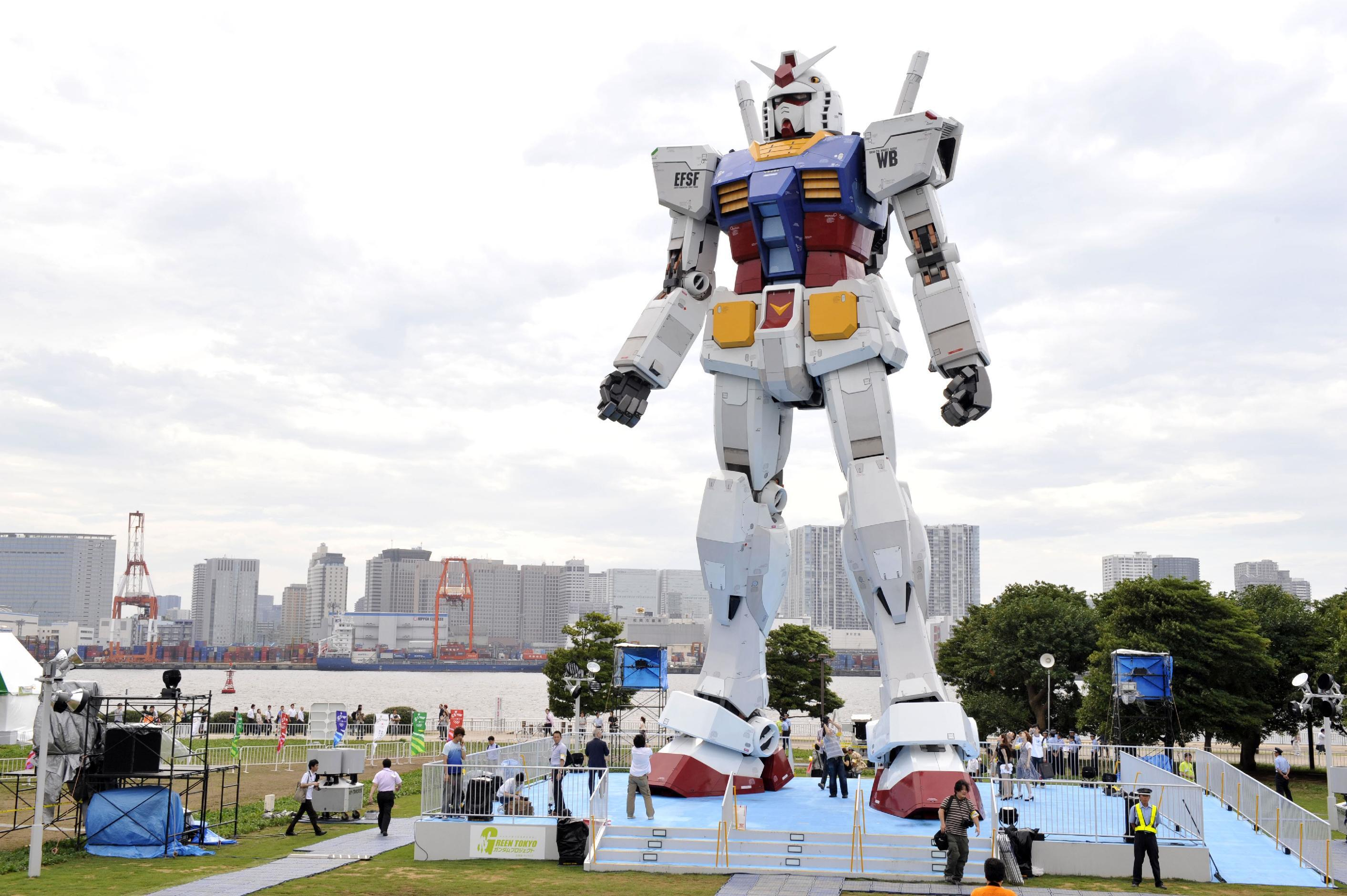 Ft Plans Japan Plans Giant Gundam Robot