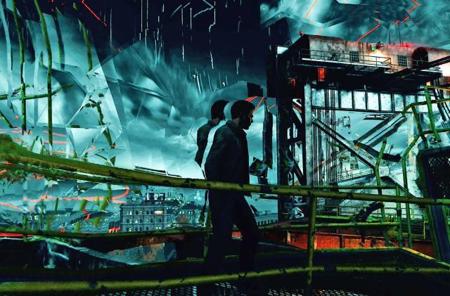 'Quantum Break' looks relentlessly surreal