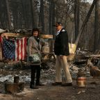 California wildfires: Trump repeats criticism of forest management as Queen sends condolences
