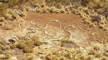 Mystery of 'SOS' sign spotted in remote Australia stumps police