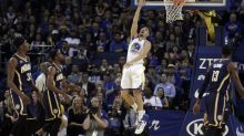 Klay Thompson sets NBA record for points in under 30 minutes