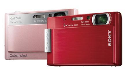 New Sony Cybershot DSC-T20 and T100 targeted towards party crowd