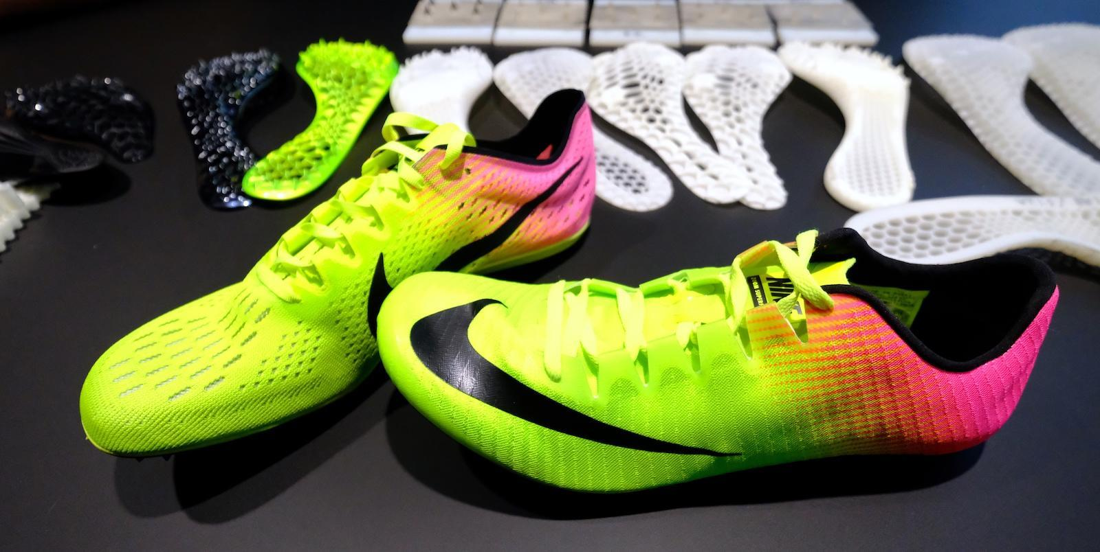 Nike used 3D printing and Olympic sprinters to design its new track shoe | Engadget