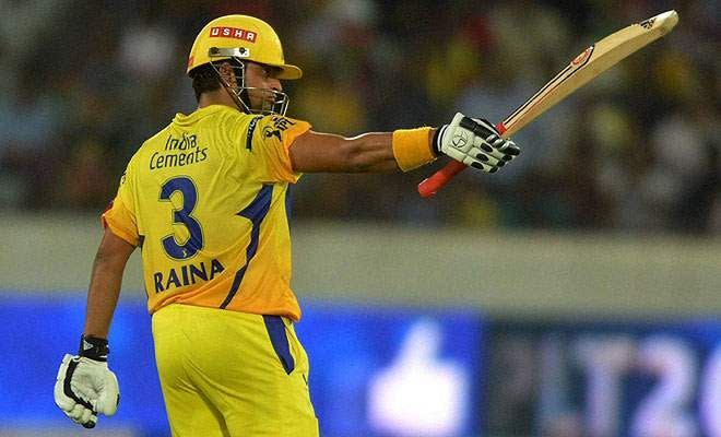 Suresh Raina - The big match player for CSK