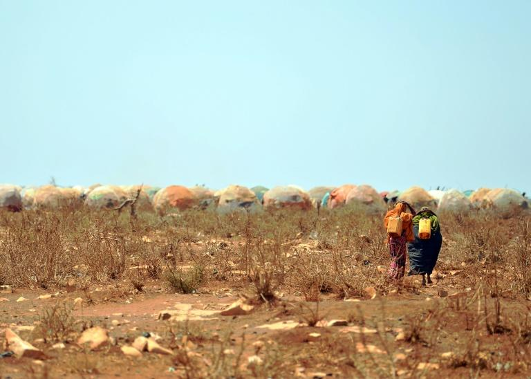 The report said Somalia was 'among the most climate-vulnerable countries in the world'