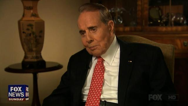 Bob Dole: Republicans are out of ideas