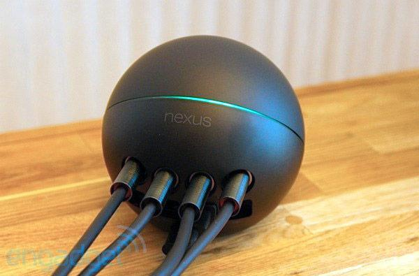 Nexus Q social streaming device hands-on