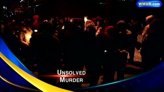 Friends, family hold vigil for unsolved murder case