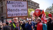 Las pensiones, la madre de las reformas de Macron, ante la prueba de la calle