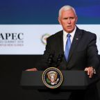 Pence vows no end to tariffs until China bows
