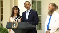 """Obama: """"While Bowe was gone, he was never forgotten"""""""