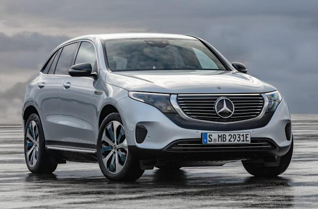Mercedes-Benz unveils its first electric SUV