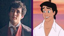 El actor que encarnará a Eric en La sirenita es igualito al príncipe animado