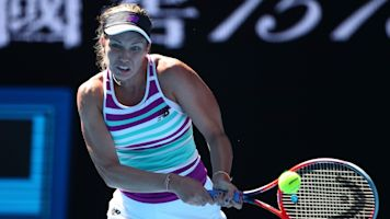 American upsets Kerber in Aussie Open rout