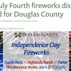 Fireworks Planned In Douglas County For 4th Of July Have Been Cancelled Over Fire Danger Concerns