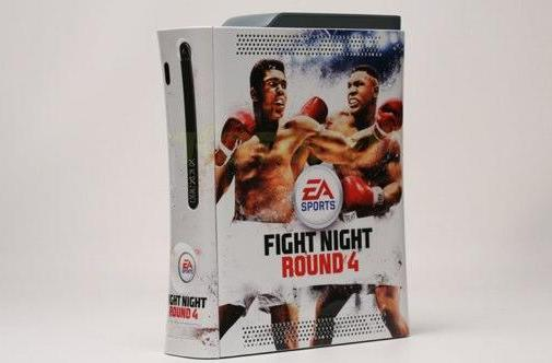 Fight Night 4 and Pizza Hut give away custom console