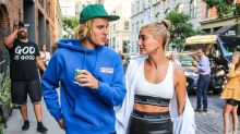 Hailey Baldwin Flashes Engagement Ring and Abs During Date With Justin Bieber