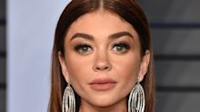 Sarah Hyland claps back at body-shaming comments about her Oscars after-party look