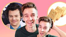 Joe Sugg reveals the YouTuber and TV shows he'd ban, as well as fangirls over Harry Styles