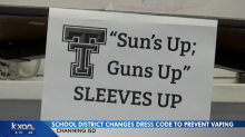 School district has new dress code to keep students from vaping: 'Sun's Up; Guns Up'