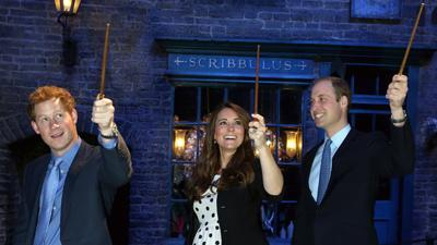 A Royal Visit to the Harry Potter Experience