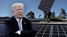 Solar industry is split on Trump's tariff plan