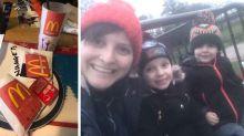 Clever mum tricks her kids with home-made McDonalds during coronavirus lockdown