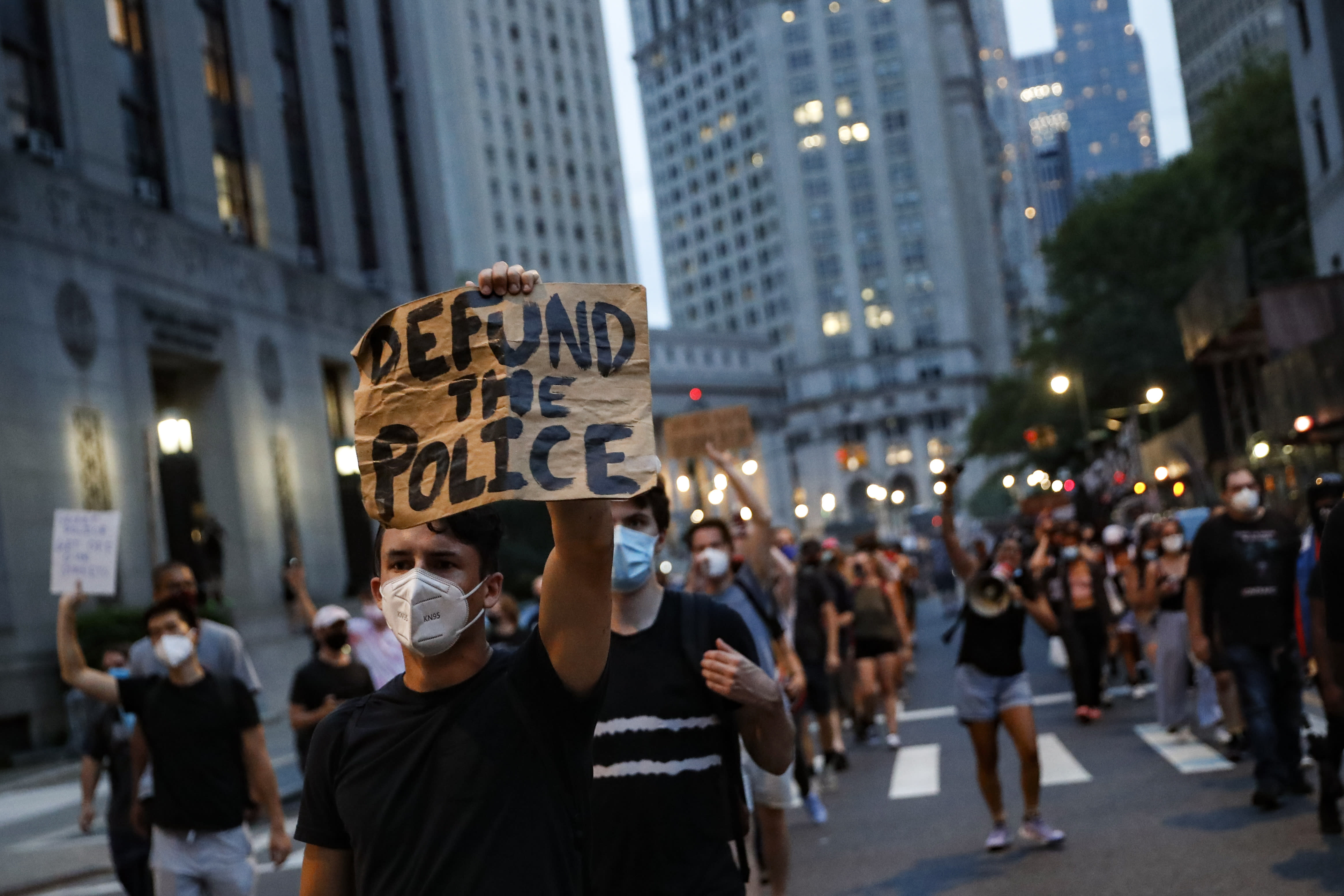 Cities move cautiously on defunding the police ...