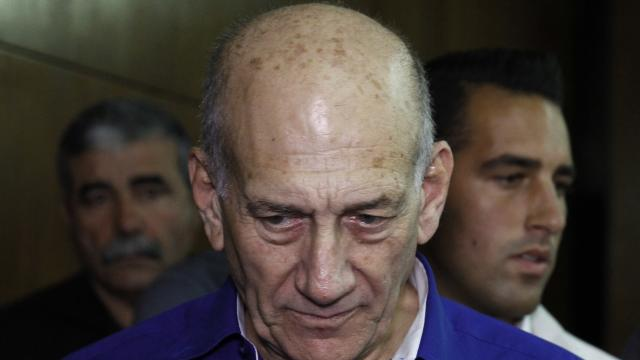 Israeli ex-PM jailed for six years