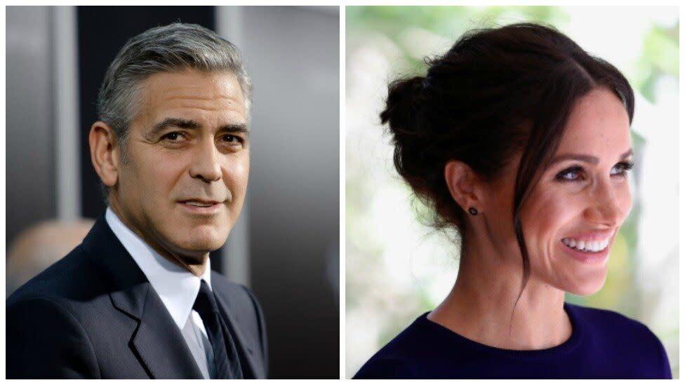 George Clooney says media should be 'kinder' to Meghan