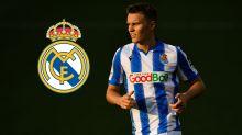 Odegaard returns to Real Madrid after Sociedad loan cut short