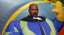 Steve Harvey Looks Ridiculous in Inflatable Costume