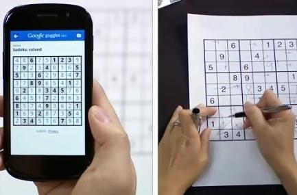 Google Goggles for iPhone recognizes ads, solves Sudoku puzzles
