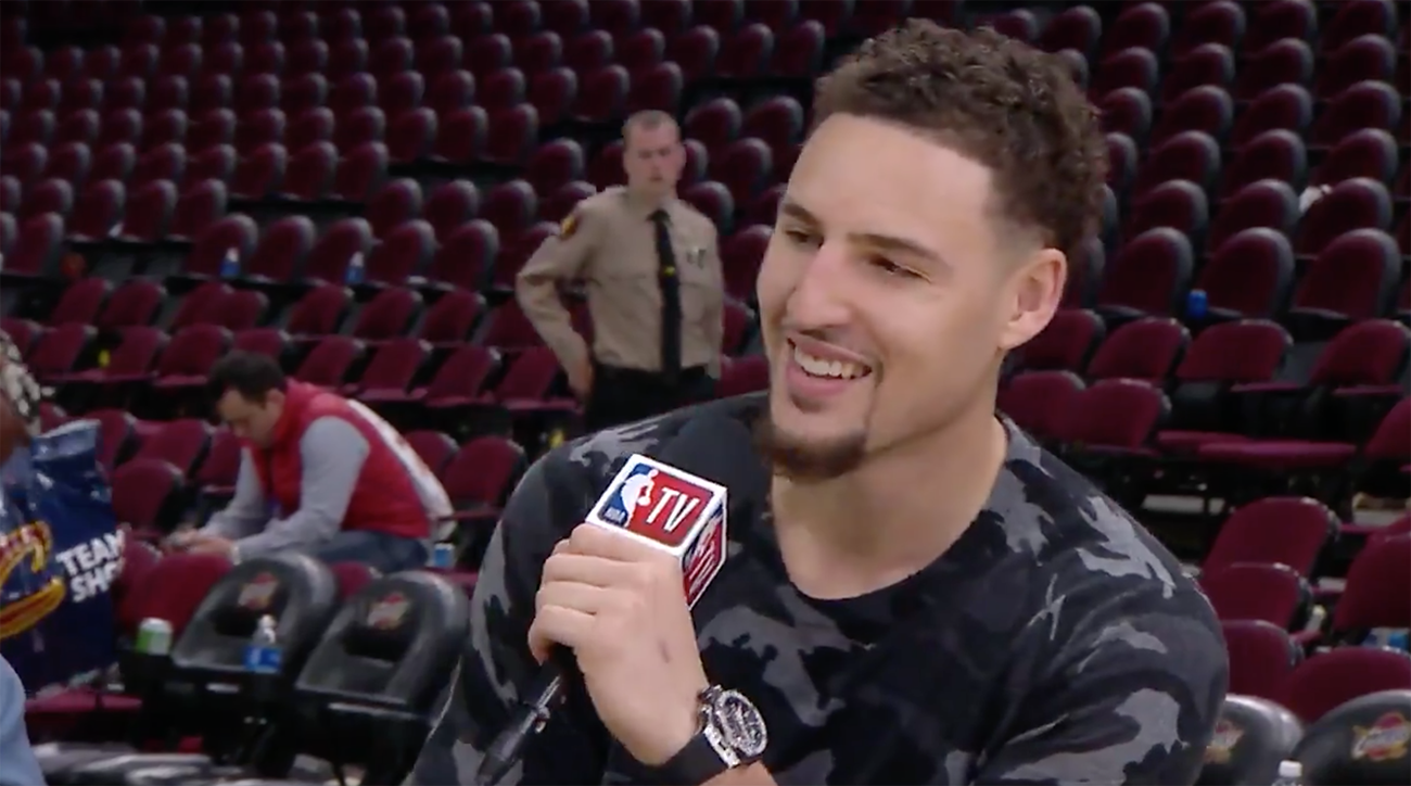 Watch: Klay Thompson Keeps It Real In Postgame Interview Following Game 3 Win