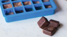 How to make healthy freezer 'fudge' with coconut oil and cocoa powder
