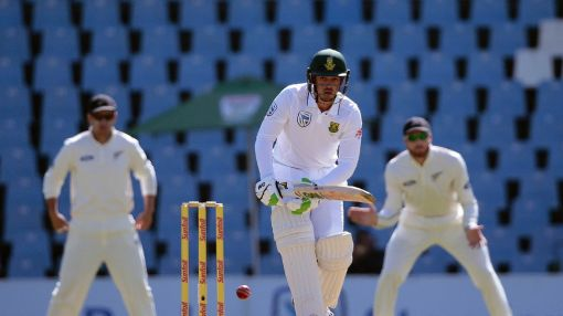 South Africa off to good start