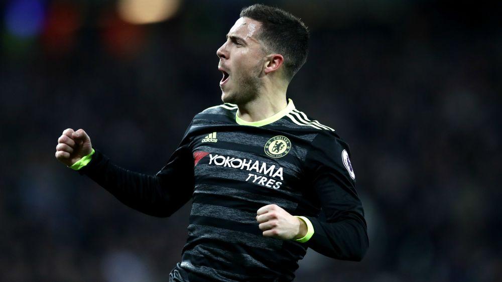Hazard est heureux à Chelsea malgré l'intérêt du Real Madrid