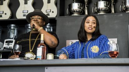 Ayesha Curry raps with E-40 about her cooking