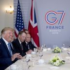 The Latest: Johnson says Brexit deal outlook uncertain