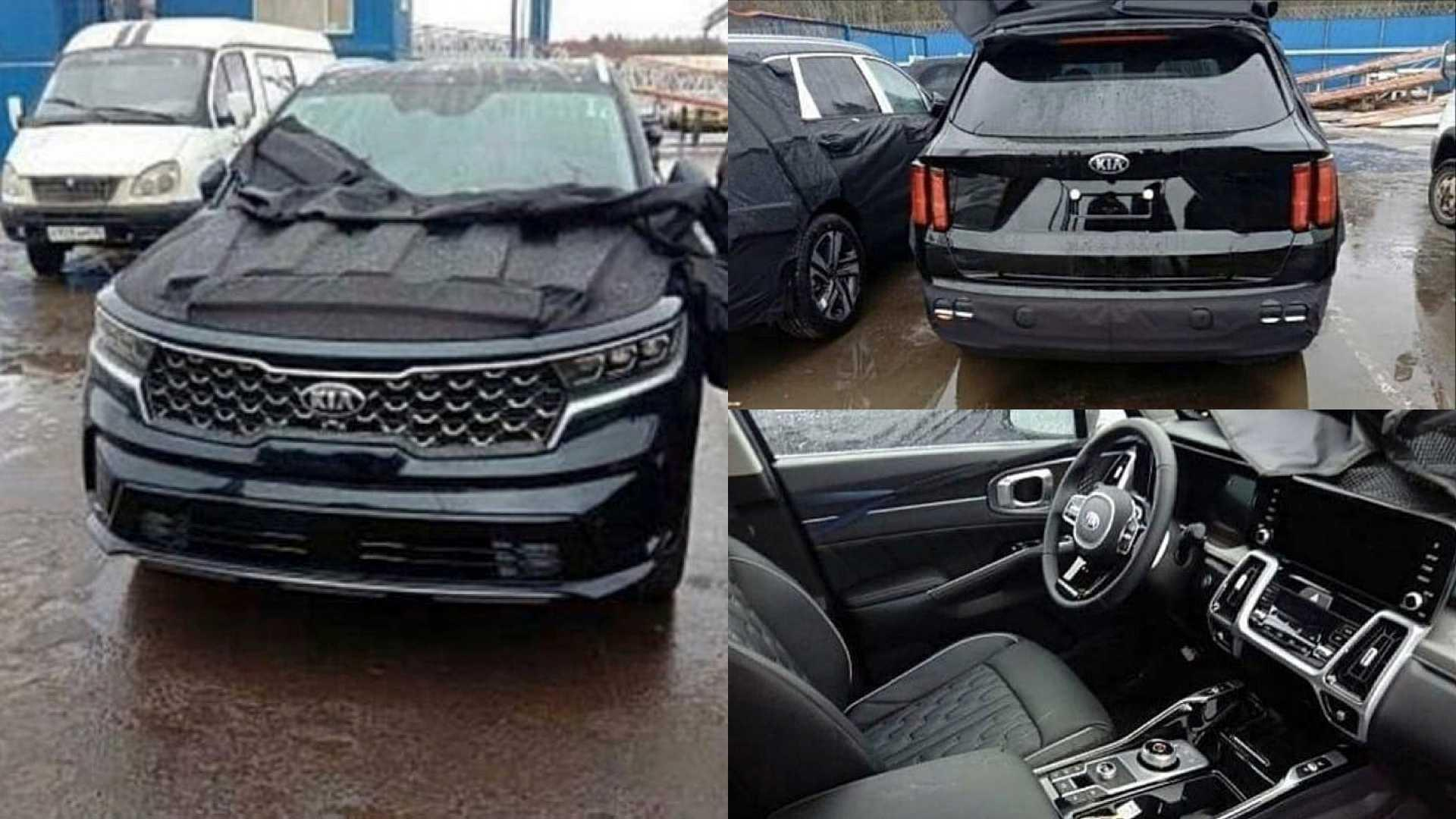 2021 Kia Sorento shows its updated face, interior in ...