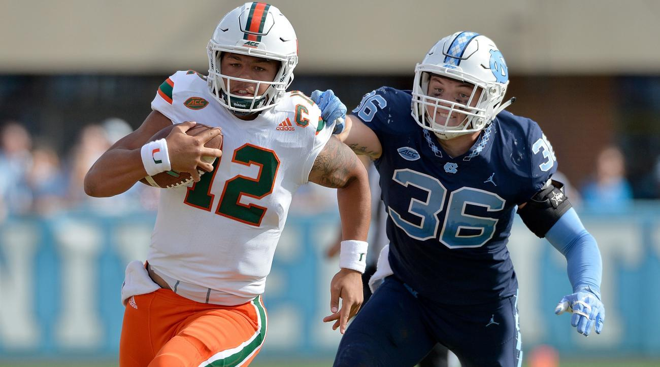 How to Watch Miami vs. UNC: Live Stream, TV Channel, Time