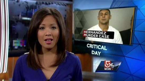 Investigators again searching Hernandez's uncle's home