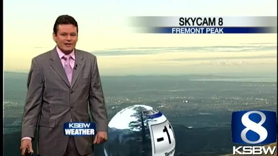 Watch your Satuday KSBW weather forecast 01.12.13