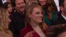 J.Law Trolls Emma Stone During Oscars