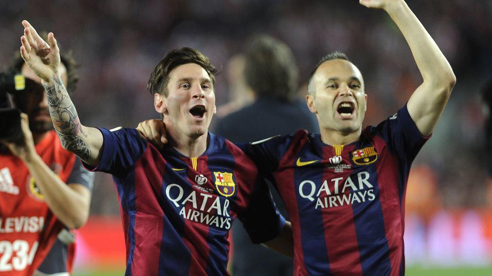 Andres Iniesta schwärmt von Lionel Messi