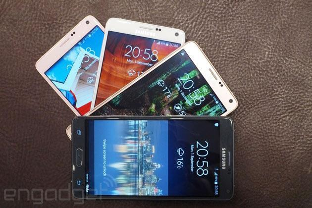 Samsung's Galaxy Note 4 coming to the UK on October 10th