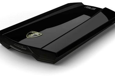 ASUS Lamborghini external HDD sports beautiful curves, bloated price tag